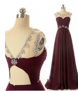burgundy prom Dress,charming Prom Dress,cheap prom dress,2016 prom dress,Long prom dress,BD1203