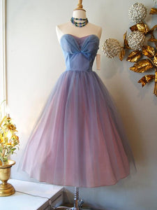 2018 Homecoming Dress Cheap Beautiful Tea-length Short Prom Dresses, Party Dresses,PD4558700