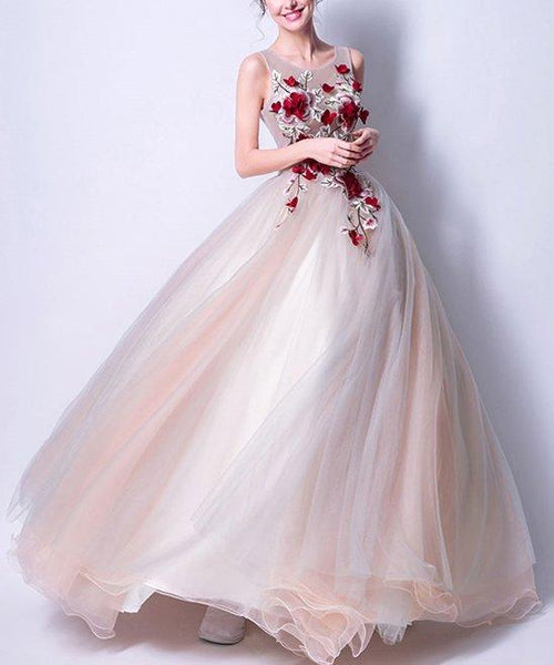 Beautiful Prom Dresses , Ball Gown Chic Prom Dress,PD4558971