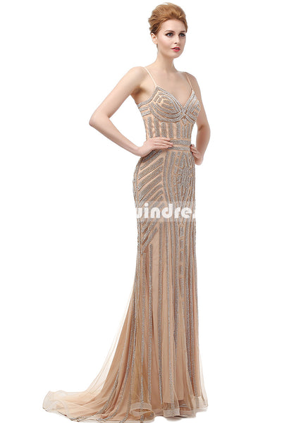 Simple Prom Dresses,Vintage Prom Gowns,long Evening Dress, Evening dresses,LX116