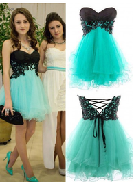 Cute Homecoming Dress,Sweetheart Homecoming Dresses,Cocktail Homecoming Dress,Strapless Homecoming Dresses,PD00158