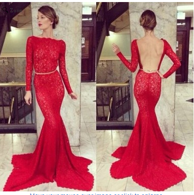 Sexy Prom Dresses,Open Back Prom Dress,Long Sleeve Prom Dresses,Formal Prom Dress,Cheap Prom Dresses,PD00159