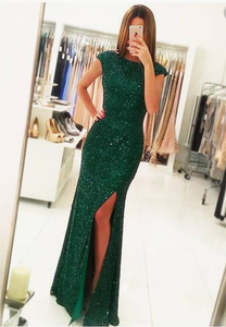 2018 Party Dresses Sequined, Sexy Formal Dresses Open Back, Latest Evening Dresses Modest Online, PD4558892