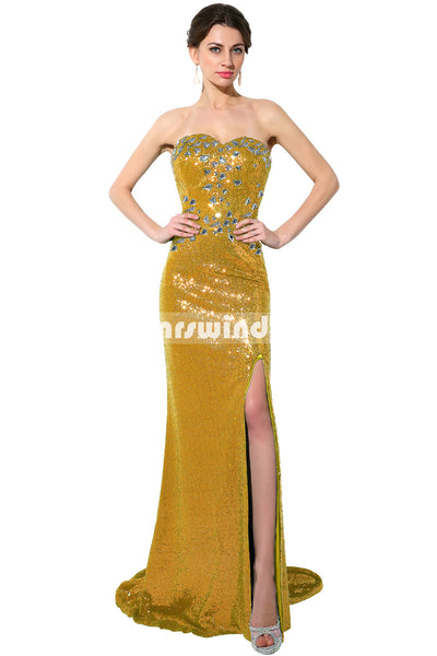Simple Prom Dresses,Vintage Prom Gowns,long Evening Dress, Evening Dresses,SD114