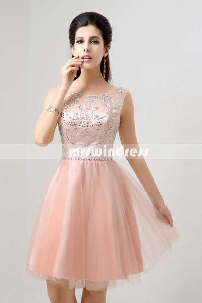 Simple Prom Dresses,Vintage Prom Gowns,Short Evening Dress, Homecoming Dresses,SD133