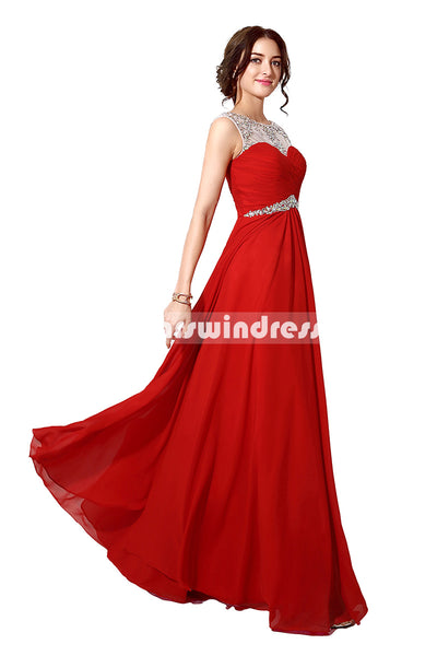 Simple Prom Dresses,Vintage Prom Gowns,Long Evening Dress, Evening Dresses,SD196