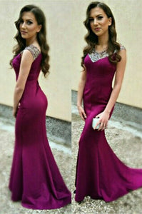 long prom Dress,cheap Prom Dress,formal prom dress,2016 prom dress,purple prom dress,BD6676