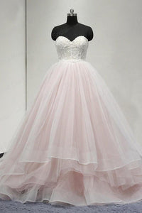 Sweetheart Lace Up Back Charming Affordable Long Prom Dresses Ball Gown,BD41520