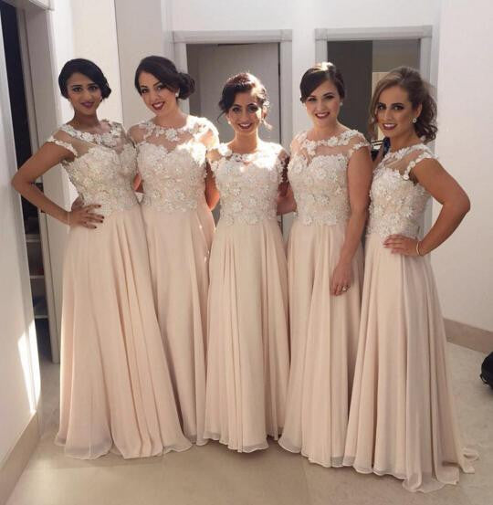 A-line Bridesmaid Dresses,Unique Bridesmaid Dress,Floor Length Bridesmaid Dress,Cheap Bridesmaid Dresses,New Arrival Bridesmaid Dress,PD00184