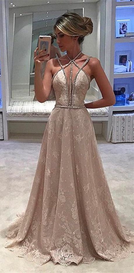 Sexy Prom Dress,Lace Prom Dresses,Long Evening Dress,Formal Dresses,PD45467
