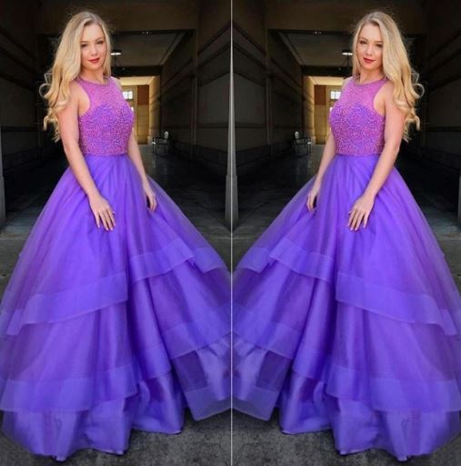 Beading Prom Dresses,New Style A-Line Prom Dress,BH91165
