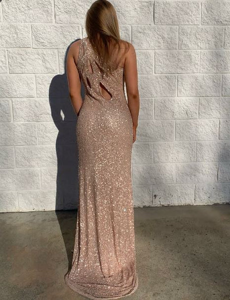 Beading Side Slit Long Formal Dress, BH91257