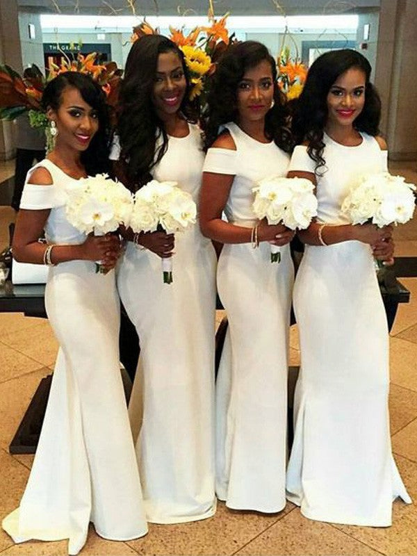 white Bridesmaid Dresses,mermaid Bridesmaid Dress,elegant Bridesmaid Dress,cheap Bridesmaid Dresses,PD00224