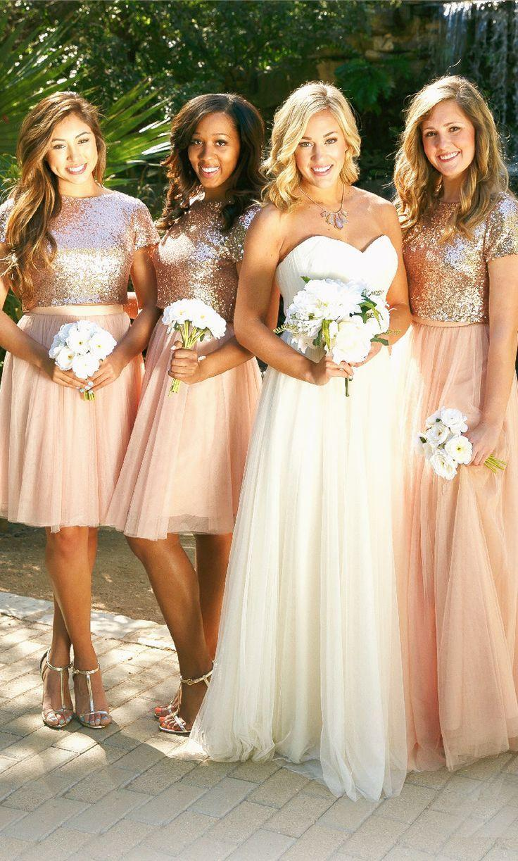 Short Sleeves Bridesmaid Dresses,Wedding Party Dresses,BH91102