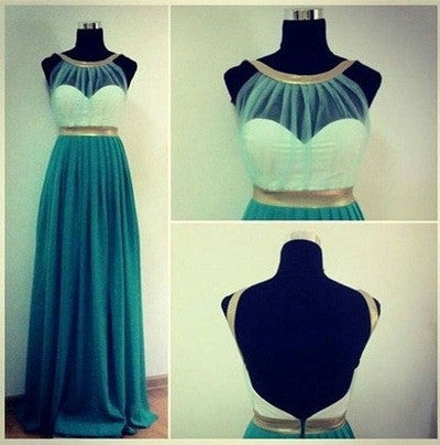 long prom Dress,cheap Prom Dress,blue prom dress,2016 prom dress,evening prom dress,BD666