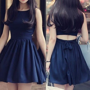 navy prom dress,Homecoming dress,Short prom Dress,cheap prom dress,Party dress for girls,BD1501
