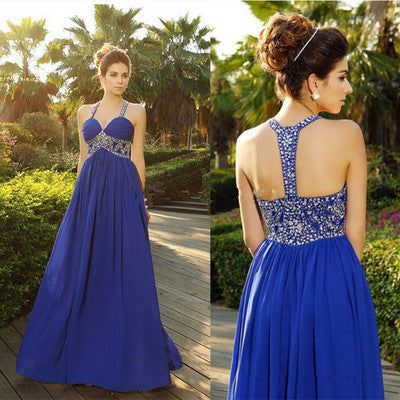 royal blue Prom Dresses,charming Prom Dress,Dresses For Prom,formal Prom Dress,long Prom Dress,BD1010