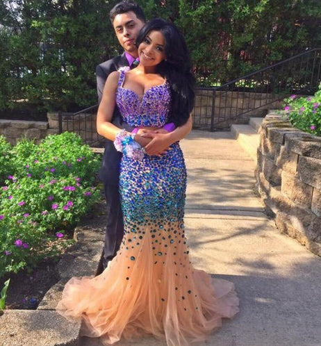 charming prom Dress,rhinestone Prom Dresses,long prom dress,2016 prom dress,evening dress,BD1657