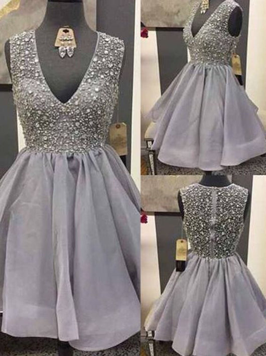 short prom dress,beaded Prom Dress,charming prom dress,mini evening gown,homecoming dress for girls,BD2722