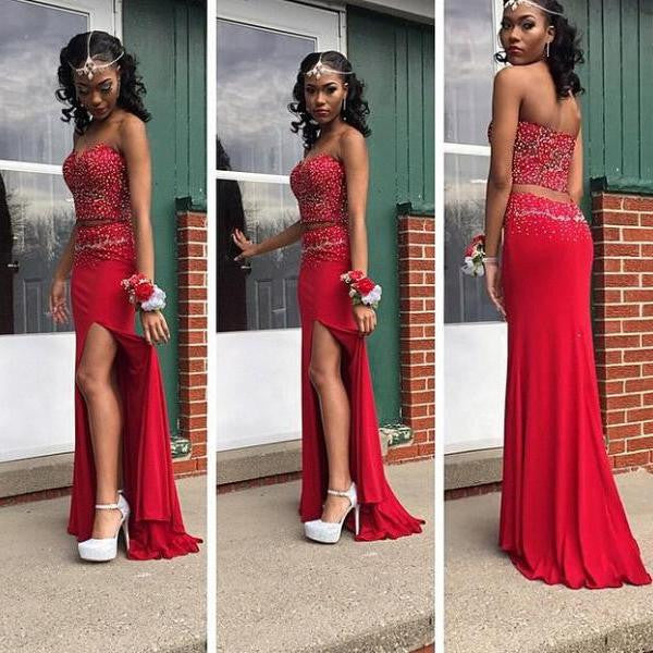 Two Pieces Prom Dresses 207a6b1d0
