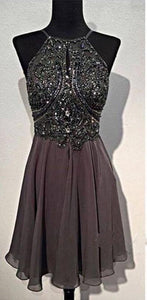 Backless Short Prom Dress, Homecoming Dresses, Graduation Party Dresses, Formal Dress For Teens,,PD455842