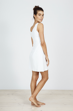 Seamless Slip Dress White