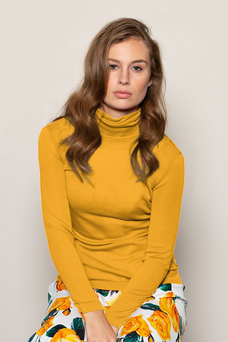 Polo Neck Buttercup