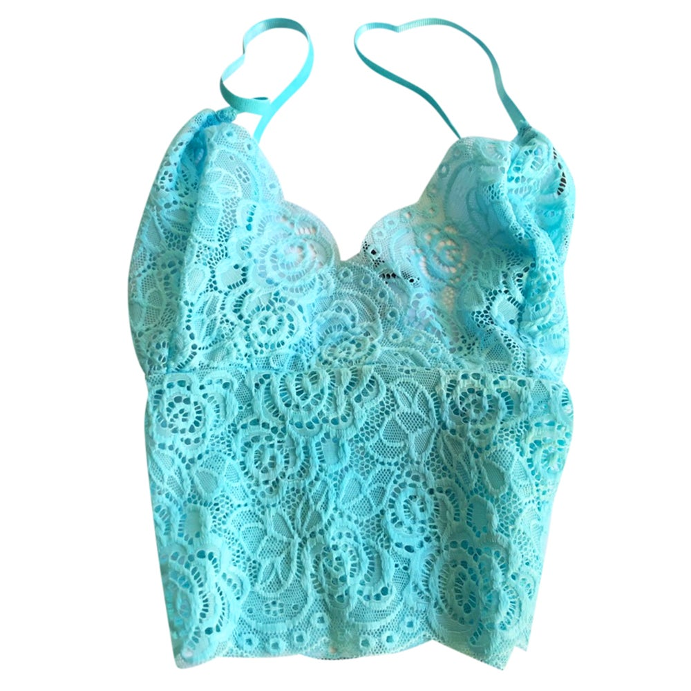 Bralette Turquoise Blue