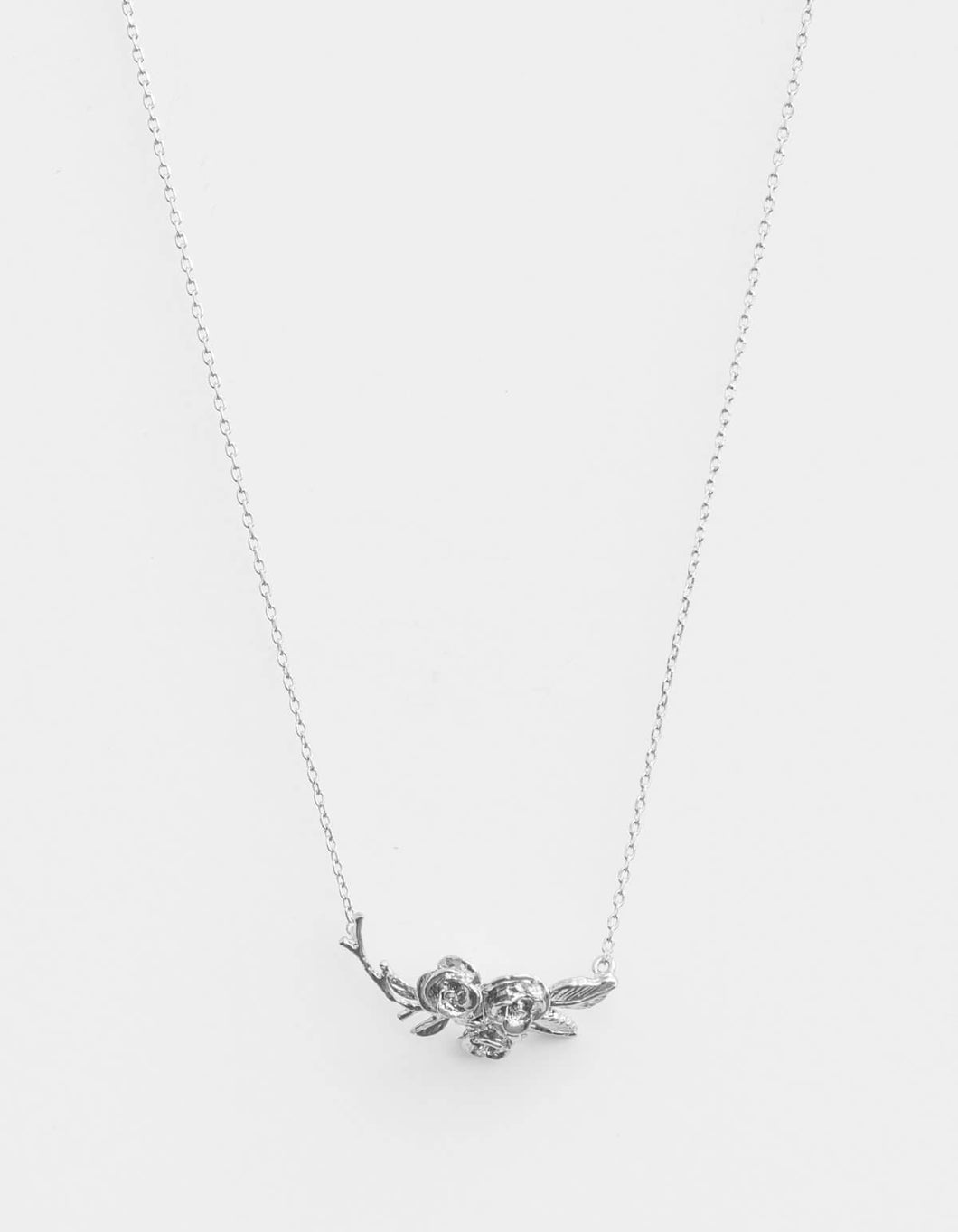 Silver Posey Necklace