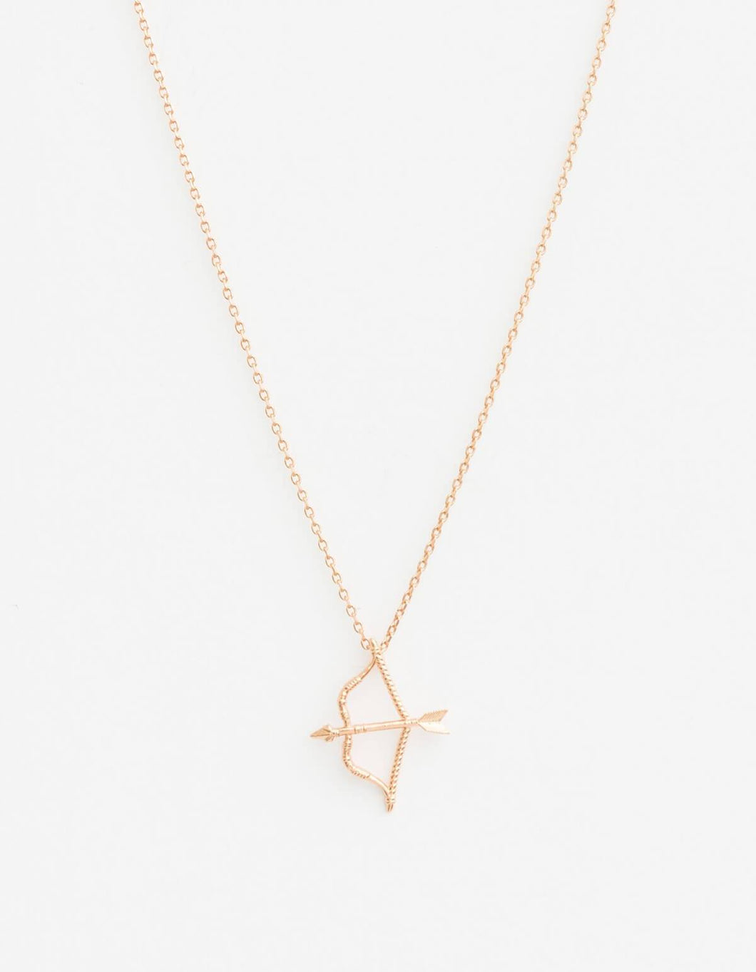 Rose Gold Cupid Necklace