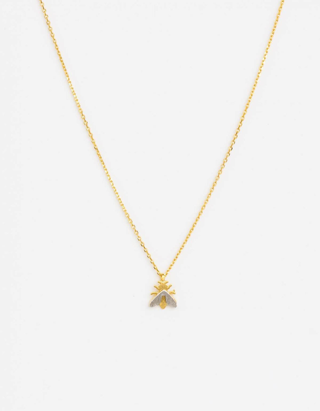 Gold Buzz Necklace