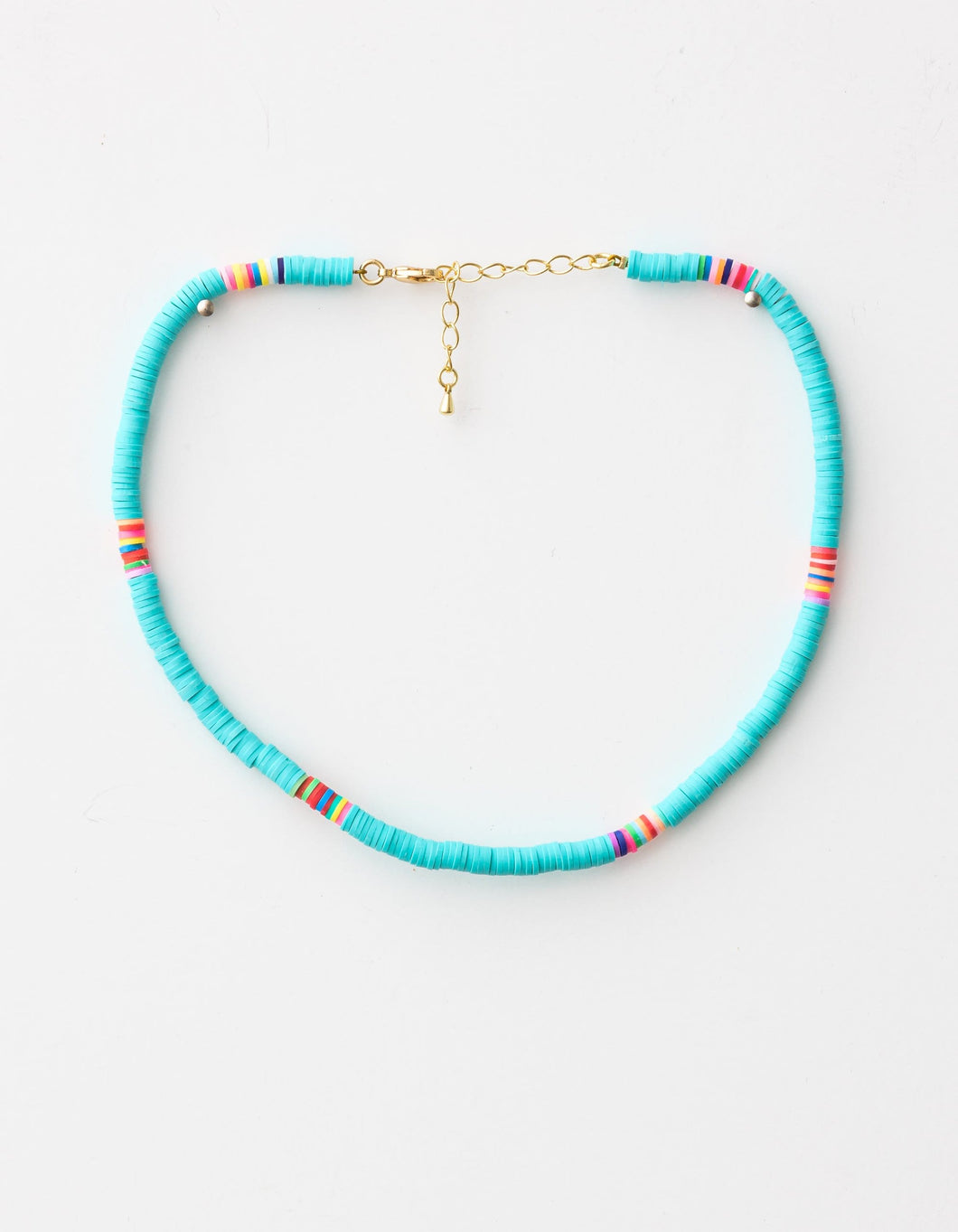 Clay Disc Sky Necklace