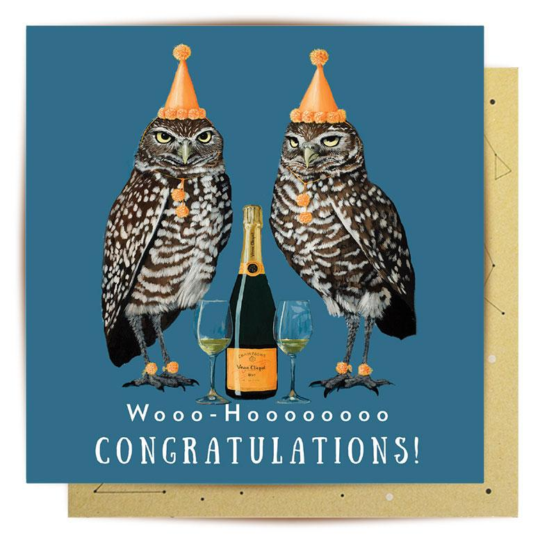 Greeting Card Woohoo Congratulations