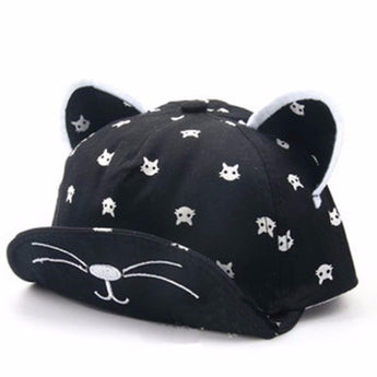 Cat Cap with Ears for Baby