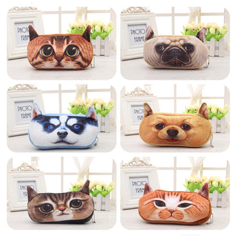 Stylish and Useful 3D Cat Pencil Case
