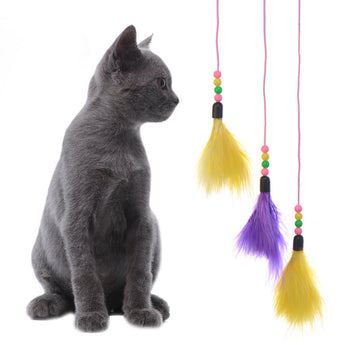Feather Wand Cat Toy - epickstore.com
