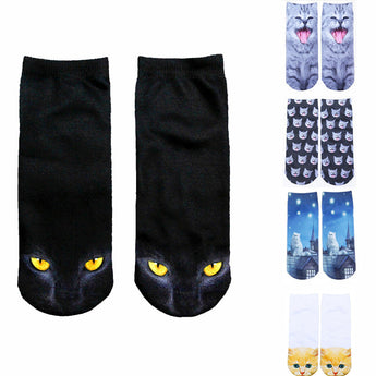 Cute 3D Cat Lover's Socks - epickstore.com