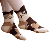 Fashionable and Stylish 3D Cat Socks for Women and Girls - epickstore.com