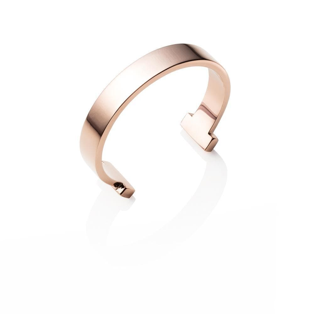 T-Bar Bangle (Rose Gold)
