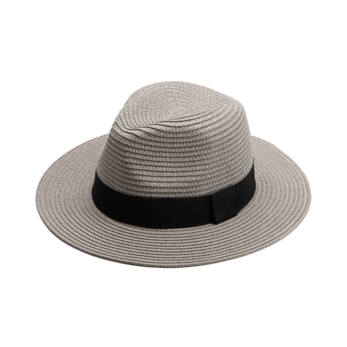 Grey Resort Fedora Hat