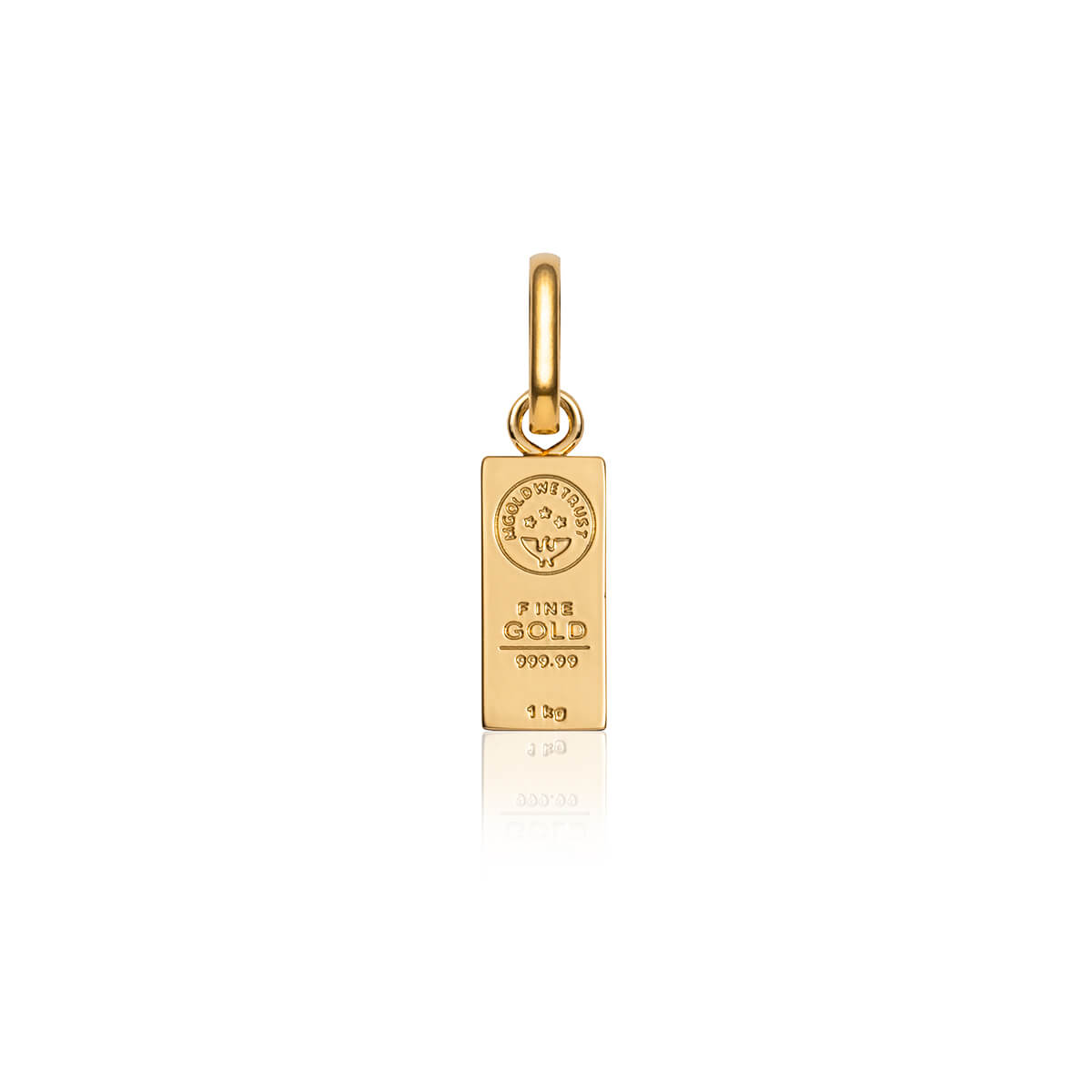 Gold Bar Pendant (Gold)