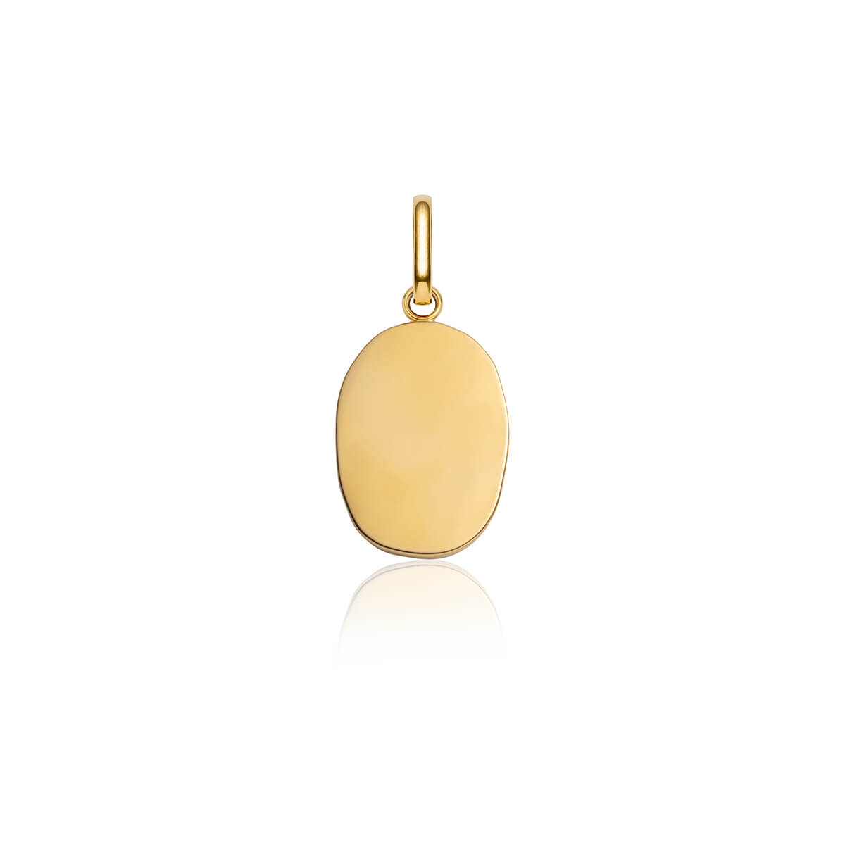 Queen Pendant (Yellow Gold/Silver)
