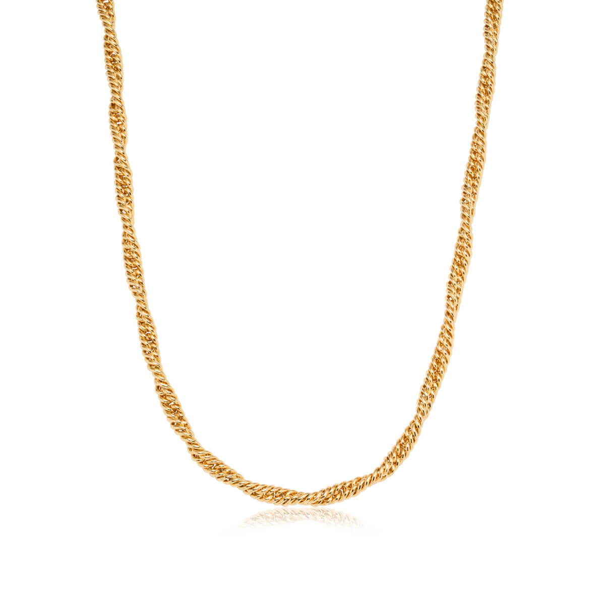 Rope Chain Necklace (Gold)