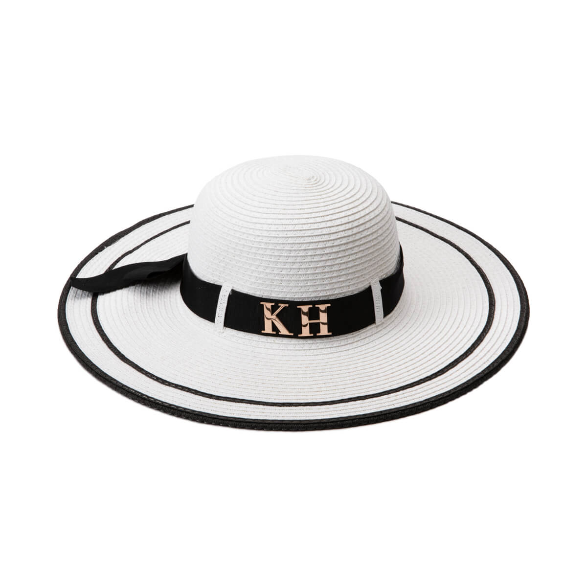 White Resort Wide Brim Hat