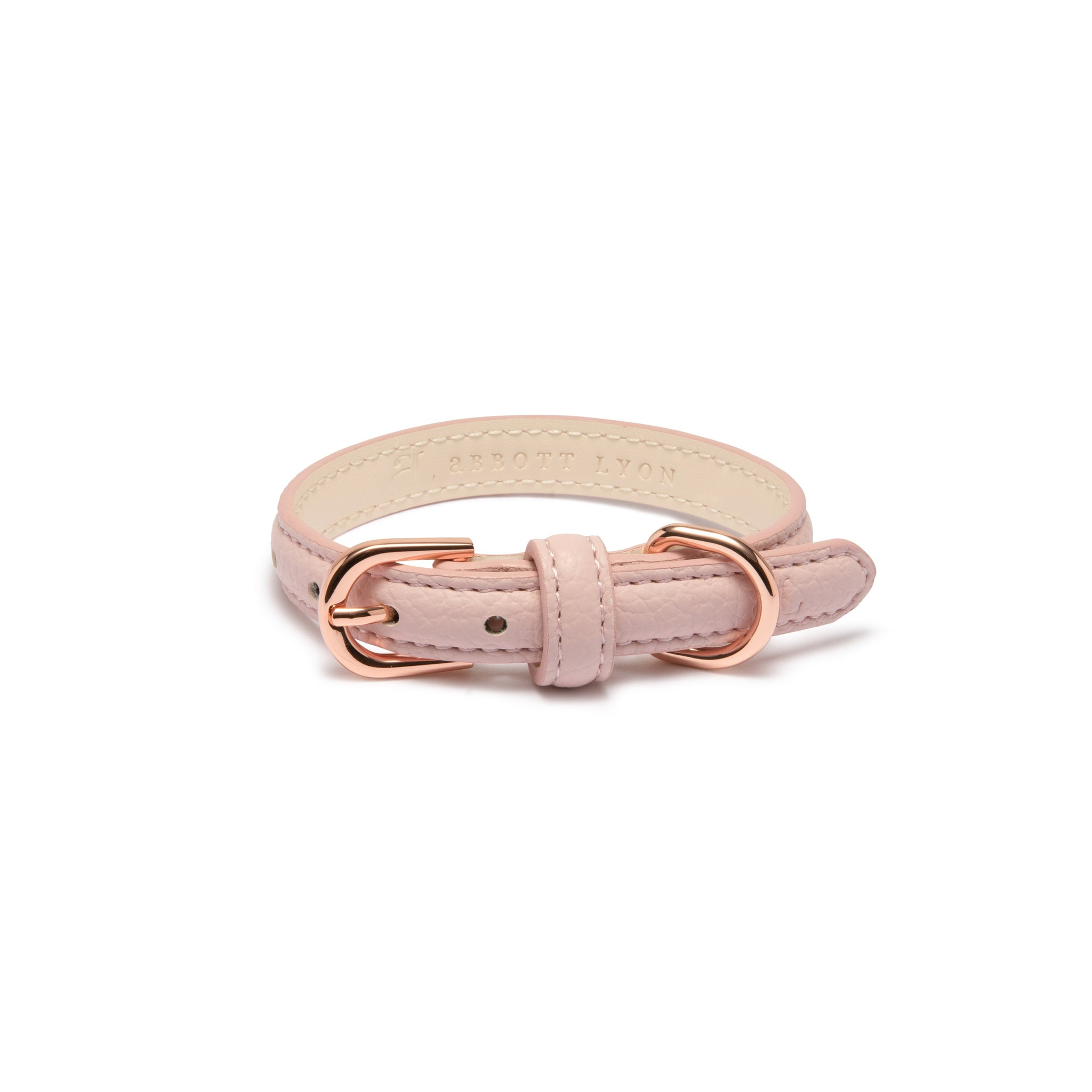Blush Dog Collar (Rose Gold)