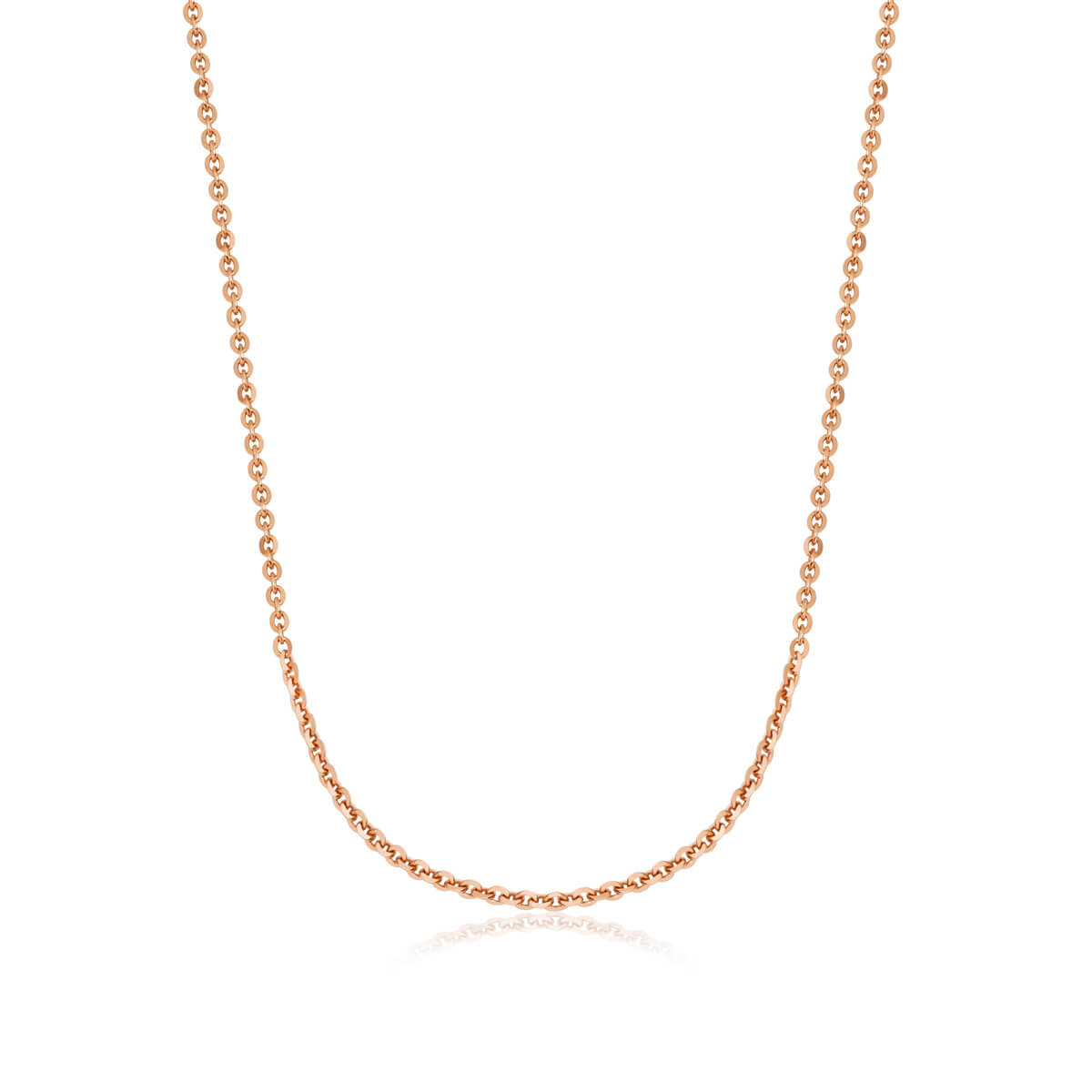 Sterling Silver Chain (Rose Gold)