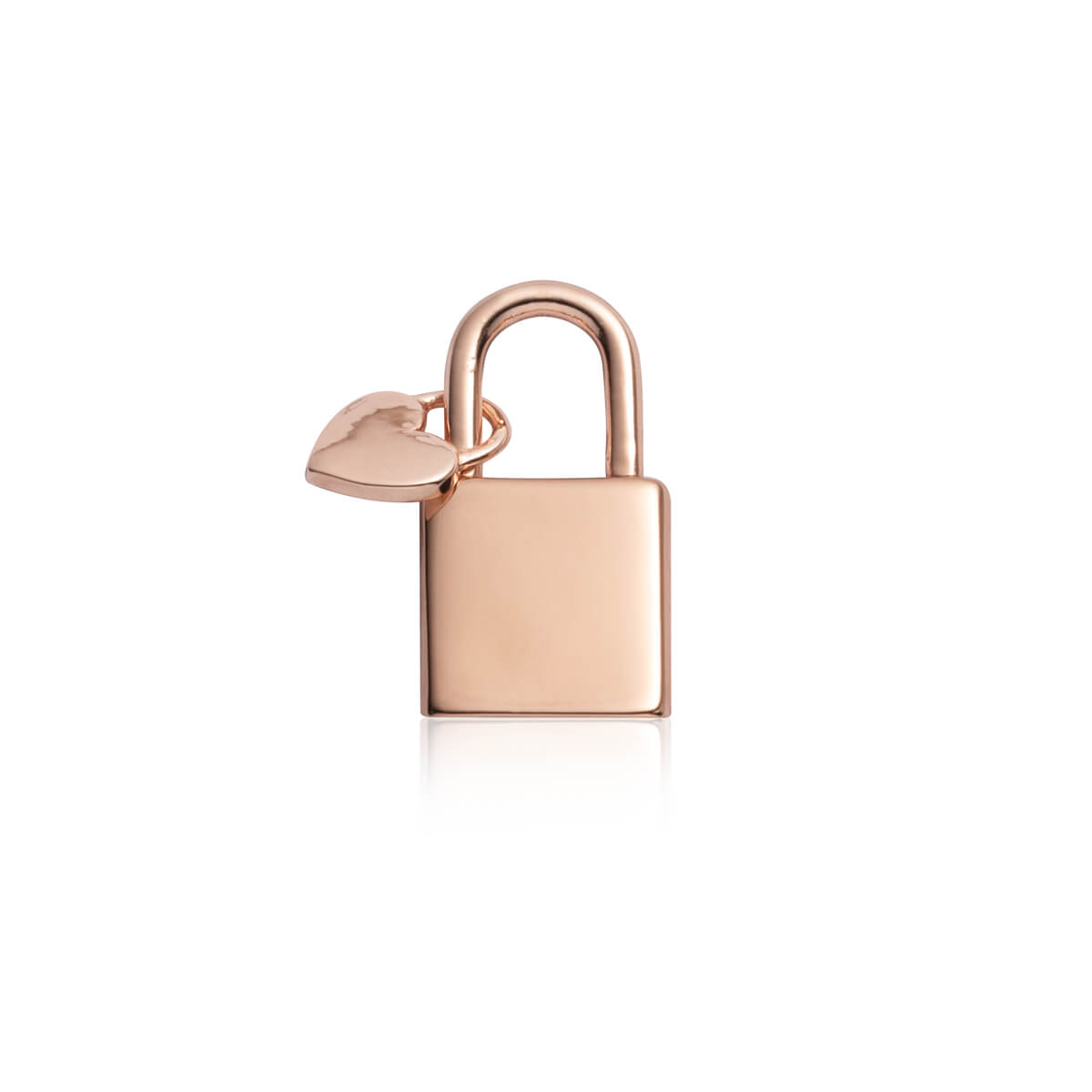 Padlock Pendant (Rose Gold)