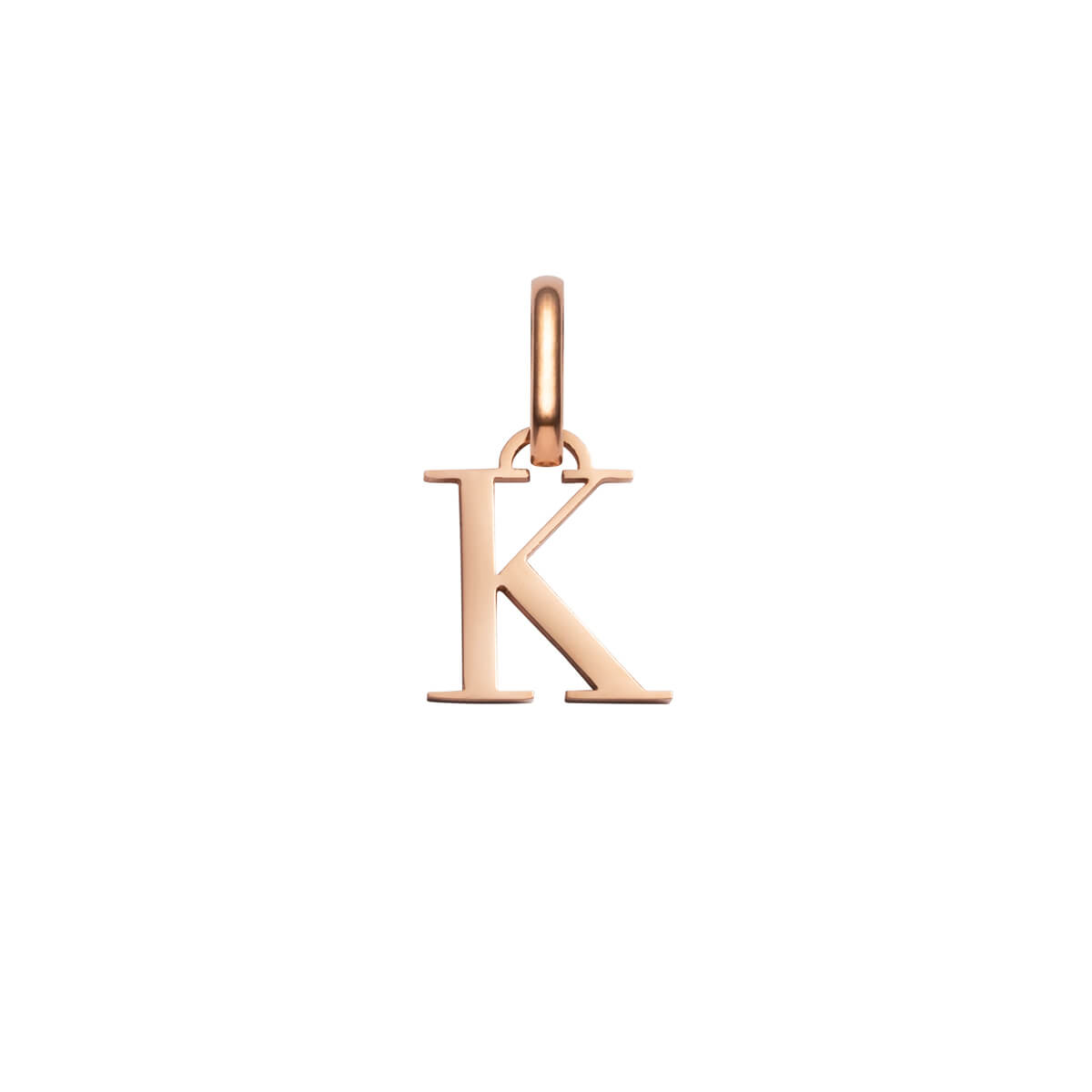 Selected Letter Pendant (Rose Gold).