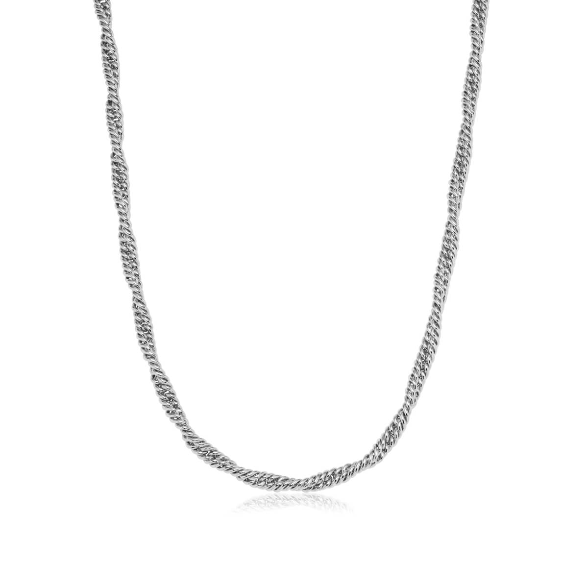 Rope Chain Necklace (Silver)