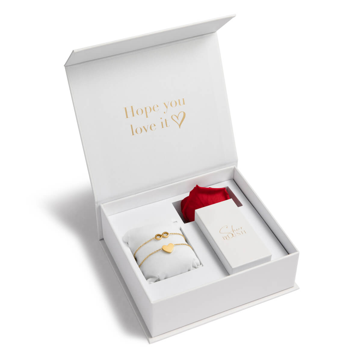 Infinite Love Eternal Rose Gift Set (Gold)